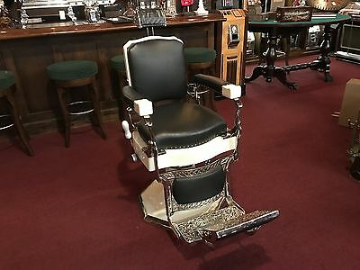 "1930'S KOKEN BARBER CHAIR  ""Watch Video"""