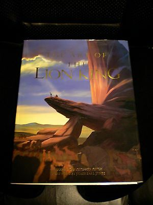 Art of the Lion King book second edition 1994 Hyperion Christopher Finch