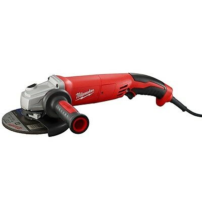 "Milwaukee 6124-30 13 Amp 5"" Small Angle Grinder Trigger Grip, Lock-On"