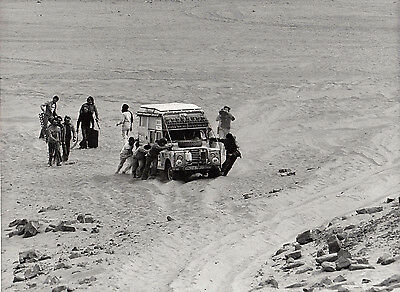 Land Rover Rally Support Vehicle, Photograph.