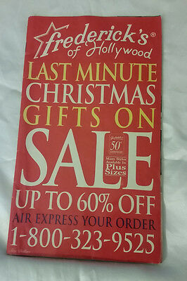 Frederick's of Hollywood 1996 Vol 102 Issue 424 Catalog Christmas Sale Fashion