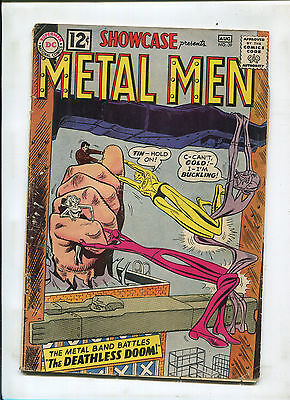 Showcase #39 (4.5) 3Rd Appearance Of Metal Men