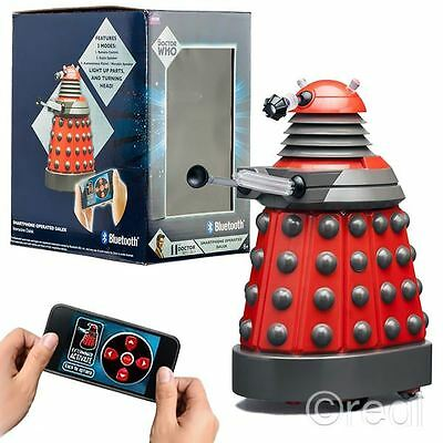 New Doctor Who Smartphone Operated Dalek Bluetooth Speaker RC Talking Official