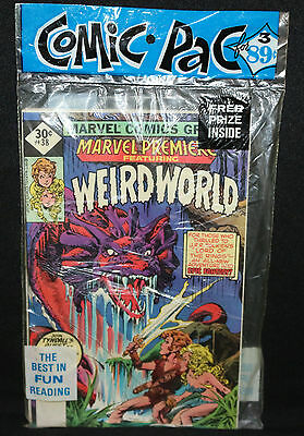 Weird World, Iron Man, & Defenders 3pc Comic Book Pre-Pack - Marvel (Sealed)