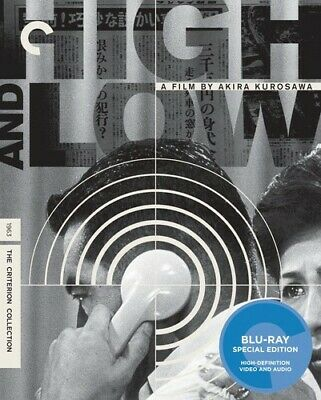 High And Low (Criterion Collection) [New Blu-ray] Widescreen