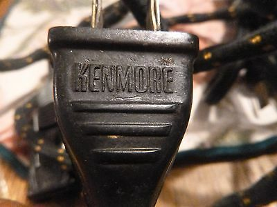 Vintage Kenmore Leviton Cloth Power Extension Cord - 6 Ft. Long