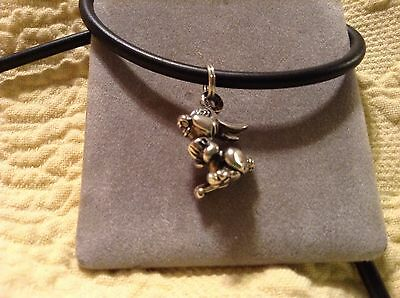 Disney Bambi Thumper Sterling Silver Charm Foot Moves Bunny Rabbit Taps