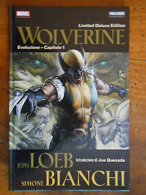 Loeb Bianchi Wolverine Limited Deluxe Edition Marvel Panini Comics
