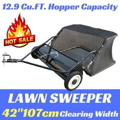 New LAWN SWEEPER 42'' SUIT RIDE ON LAWN MOWER WITH WHEELS