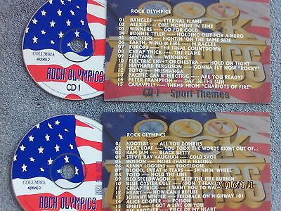 Rock Olympics  2 x Jukebox CDs for NSM Jukeboxes + matching Title Cards