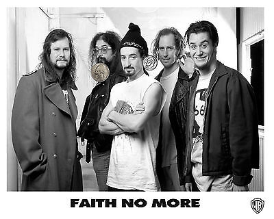 FAITH NO MORE PRESS PUBLICITY PROMO GLOSSY 8x10 PHOTO PICTURE RP HEAVY METAL