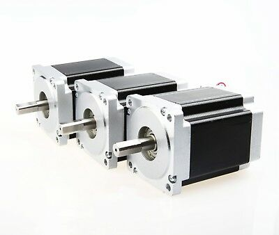 【Free ship US】3PCS CNC NEMA34 Stepper Motor 1232OZ-IN 8.7NM,5.6A,118mm,4leads