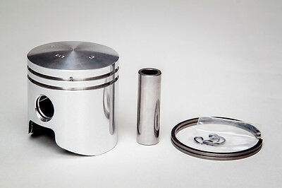 Piston kit with rings 58mm IMT-506 / Agria 6000 (Engine Type 66), Meteor Piston