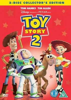 Toy Story 2 DVD (2005) John Lasseter cert U 2 discs Expertly Refurbished Product
