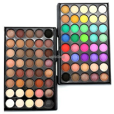 40 Colors Eye Shadow Makeup Cosmetic Shimmer Matte Eyeshadow Palette Set W4ST