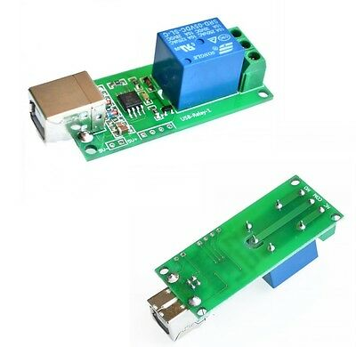 5V/12V USB RELAY 1/2/4/8 Channel Programmable Computer Control Relay