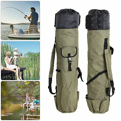 Rod and Reel Holdall Bag Carp Fishing Tackle Case for 5 rods UK