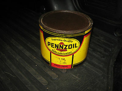 Pennzoil 5 Pound Almost Full Can