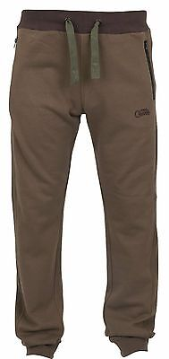 Fox Carp Fishing Clothing - Chunk Ribbed Joggers - Khaki