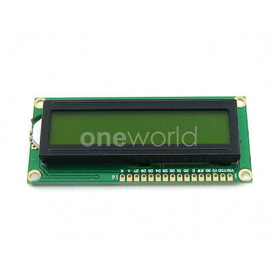 Yellow Backlight Character LCD TN/STN Module High Definition 3.3V LCD1602