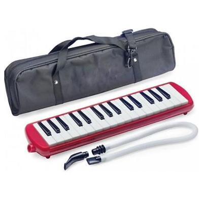 Stagg MELOSTA32RD 32 Note Melodica with Bag - Red