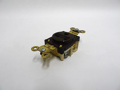 NEW Hubbell HBL5661CN Single Receptacle 15A 250V 2P 3 Wire Grounding