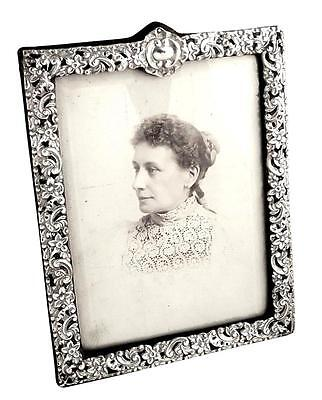 Antique Victorian Sterling Silver Photo Frame - 1896