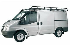 Rhino Modular Roof Rack (R528)Ford Transit 2000 Onwards L1 ( SWB ) H1 Low Roof