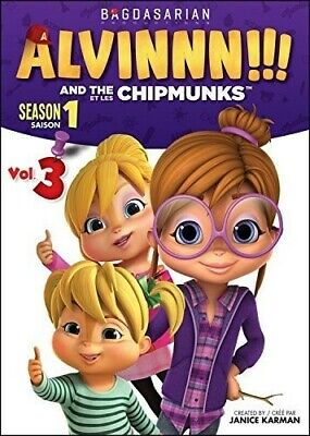Alvin & the Chipmunks: Season 1 - Vol 3 [New DVD]