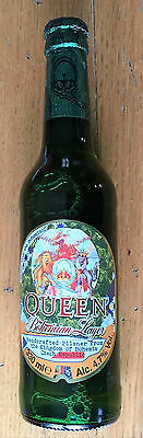 QUEEN Bohemian Lager -  Beer - Bottle FULL and NEW