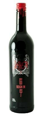 SLAYER Reign in Blood Red Wine - Bottle FULL and NEW