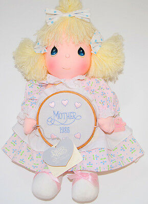 NWT Vintage PRECIOUS MOMENTS 1986 MOTHER'S DAY DOLL Katie #5605 Applause Plush