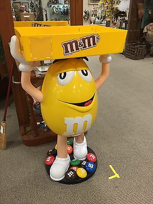 Rare Yellow Peanut M&M Store Candy Display Piece!