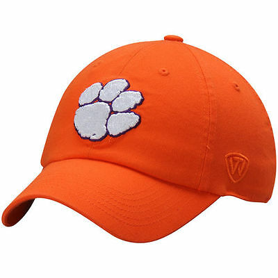 Clemson Tigers Top of the World Relaxer 1Fit Flex Hat - Orange - NCAA