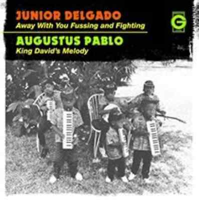 """Junior Delgado-Away With Your Fussing and Fighting  Vinyl / 7"""" Single NEU"""