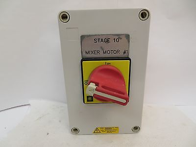 Telemecanique Iec 947-3 32A Amp Enclosed Rotary Safety Switch 600 V
