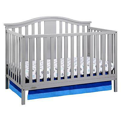 Graco® Solano 4-in-1 Convertible Crib with Bonus Mattress