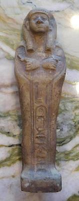 ANCIENT EGYPTIAN TALL USHABTI – Magnificent Detail (US122016B) *SPECIAL*