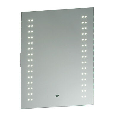 Saxby 13760 - Perle - 2W Modern LED Bathroom Mirror Light with Shaver Socket