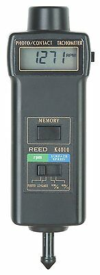 REED K4010 Dual Function Contact/Non-Contact Photo Tachometer