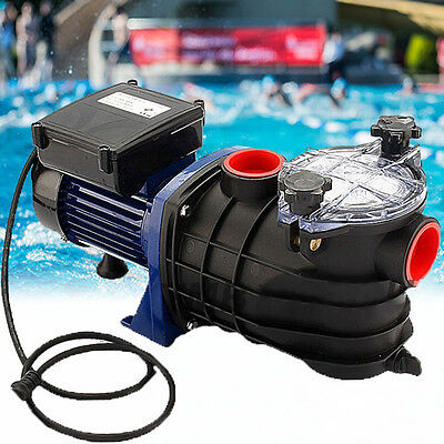600W Swimming Pool Pump Electric Strainer Filter Pump for Ground Pool Water Spa