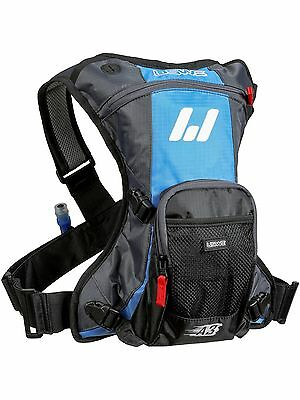 USWE Cyan-Grey A3 Challenger - 1 Litre (Plus 2 Litre Bladder) Hydration Pack
