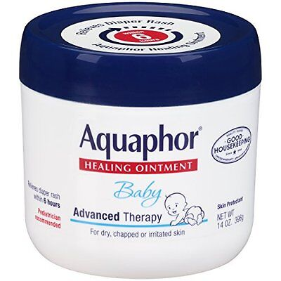 Aquaphor Baby Advanced Therapy Healing Ointment Skin Protectant 14 Oz Each