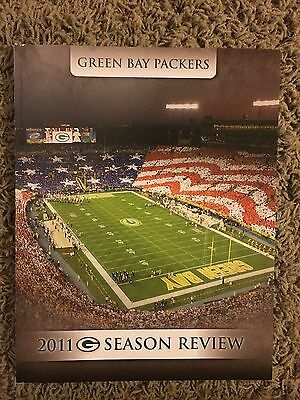 Green Bay Packers 2011 Season Review Book Magazine 15-1 Rare!