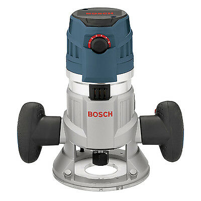 Bosch 2.3 HP 15 A Electronic Fixed Base Router MRF23EVS (Certified Refurbished)