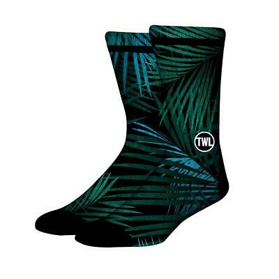 New The WOD Life - Unisex - Socks - Blue Ferns from The WOD Life
