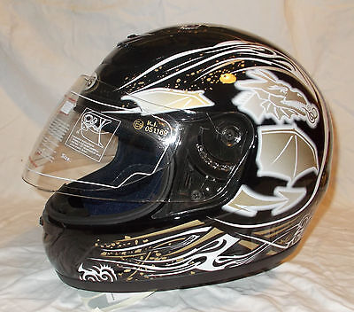 casque moto scooter integral jeb's taille L 59 60 dragon neuf