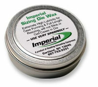 07500 Redding Imperial Sizing Die Wax - 1 Oz Tin - Brand New - Clear