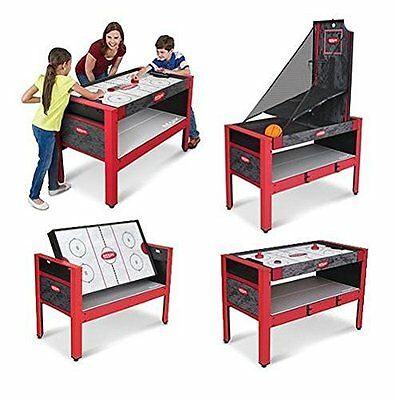 Game Tables 4 In 1 For Game Room Multi Combination Football Hockey Basketball