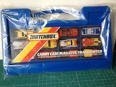 Vintage Matchbox carry case mallette VER FOTO
